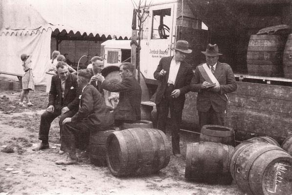 Schützenfest 1939: Wie viele Fässer es wohl waren?