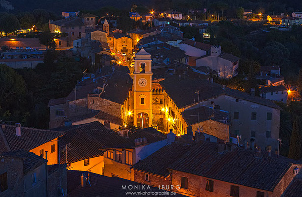 Licht in den Gassen - Toscana