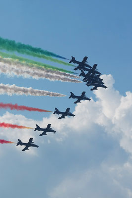 Frecce Tricolori at Air14 in Payerne