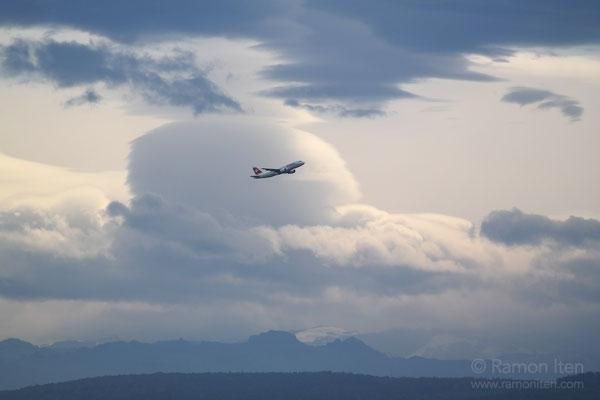 Huge lenticular cloud