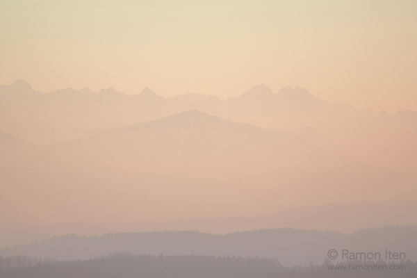 Rigi in evening light