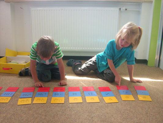 Im letzten Jahr im Kindergarten beschäftigen wir uns mit Zahlen und Mengen!