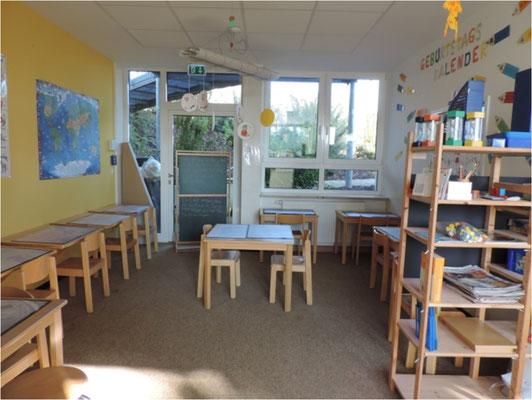 Unsere Lernräume ... für die 1. und 2. Klasse ...