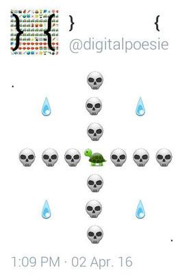 Emojipoem für Twitter