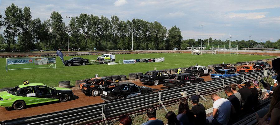 158 - 1. Vorlauf Heck/Volvo