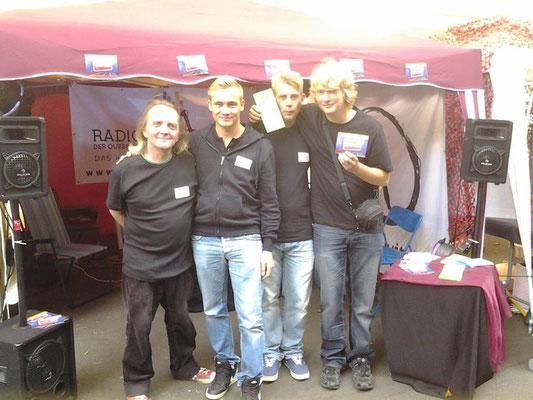 Gemeinsam durch dick und dünn mit Radio Andersrum ON Tour 2013 /// Foto: M.Damerius