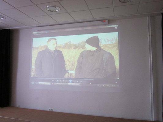 Präsentation der Facharbeit von der Prenzlauer Rundschau /// Foto: Dietrich Dittmann