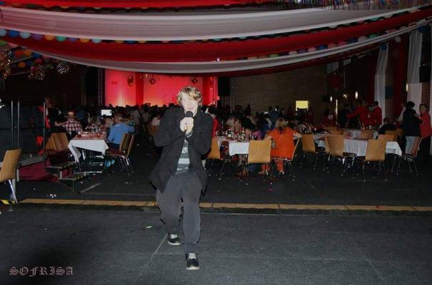 2017 besuchte ich die Faschingsparty vom Prenzlauer Carnevalclub e.V. /// Foto: Heike Stiel