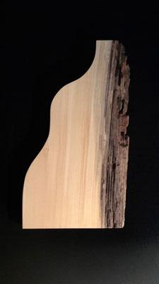 Silhouette einer Schwangeren, 45,5 x 24 x 2,2 cm (HxBxT), Linde, gewachst, Preis auf Anfrage