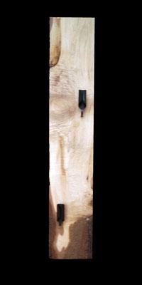 Kerzenhalter, 84 x 16 x 4 cm (HxBxT), Esche, geölt, Preis auf Anfrage