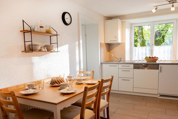 Küche FEWO Nussbaum