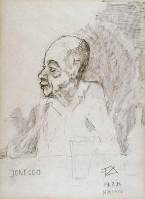 Ionesco. Portrait de Ionesco