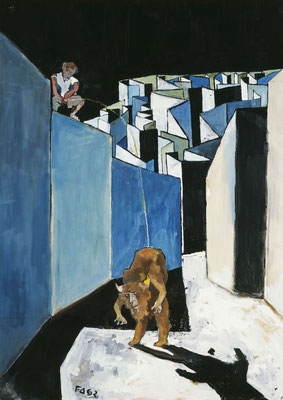 Labyrinth I : Der Entwürdigte Minotaurus. Le Minotaure déshonoré