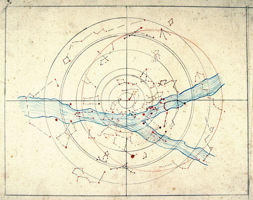 [Sternenkarte]. Carte des étoiles