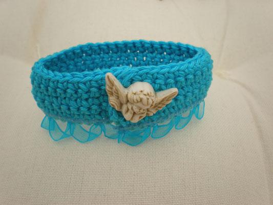 bracelet crochet avec bouton