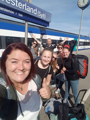 Mannschaftsfahrt nach Sylt