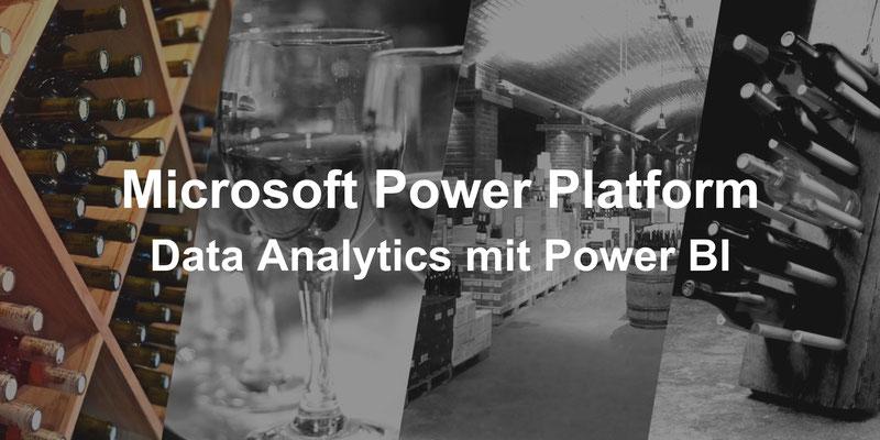 Microsoft Power Plattform, Data Analytics mit Power BI