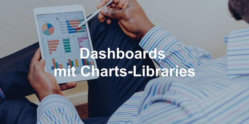Dashboards mit Charts-Libraries