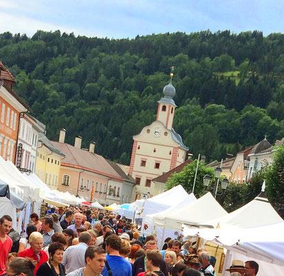 Veinzelstück am Kunsthandwerksmarkt in Gmünd Kärnten