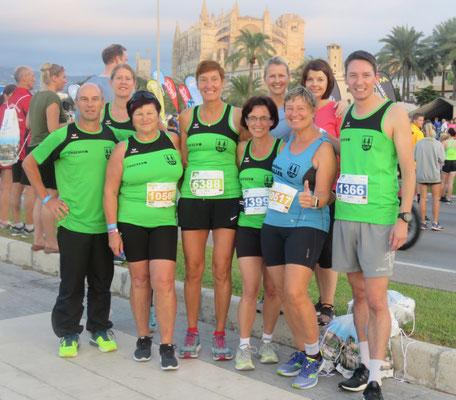 Teilnehmer beim Marathon auf Mallorca
