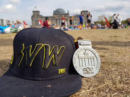 Teilnehmer beim Berlin-Marathon