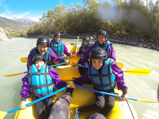 Rafting Durance