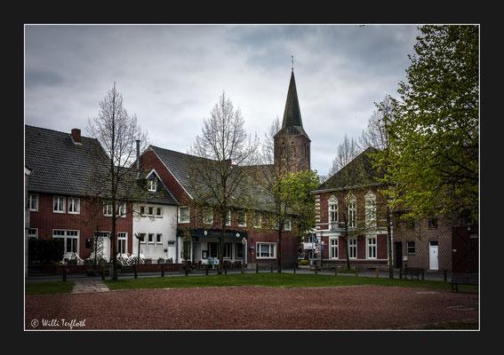 Margaretenplatz mit Kirche