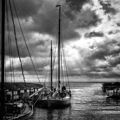 Segelboote im Hafen von Althagen/Ahrenshoop