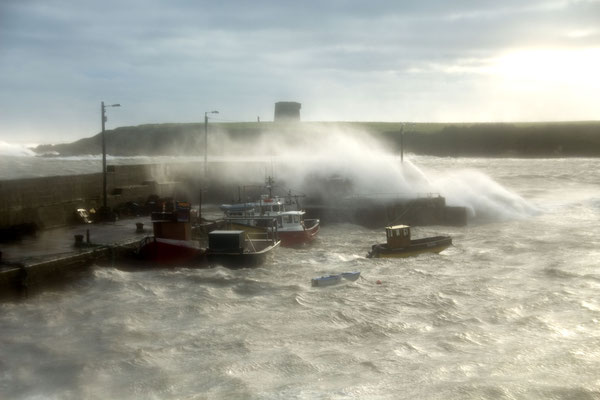 Loughshinny sea storm