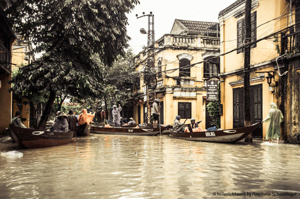 old town of Hoi An - making the best out of the situation