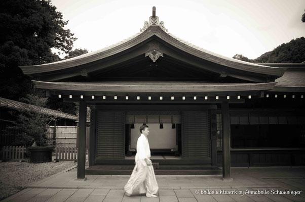 at Meiji-Shrine
