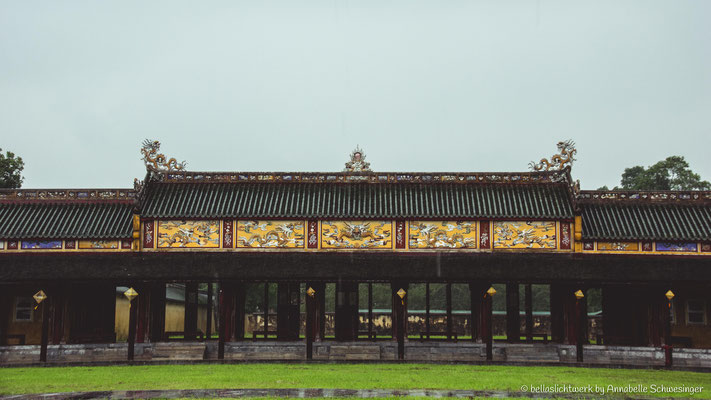 citadel of Hue - imperial city