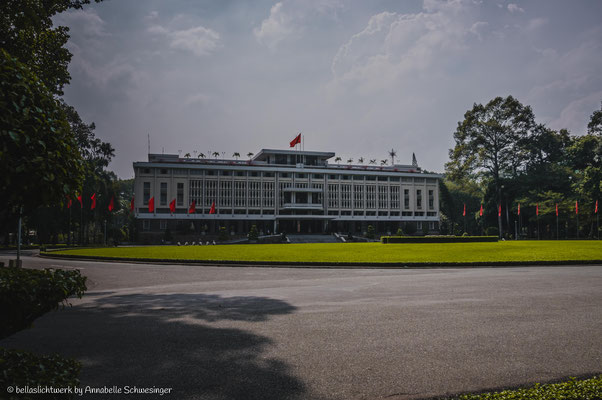 reunion palace in Ho Chi Minh City or Saigon