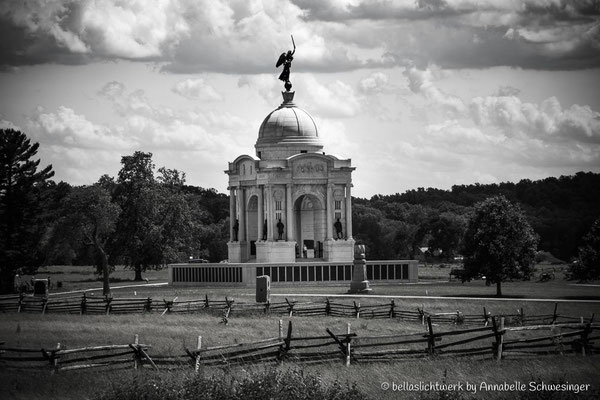 Pennsylvania State Memorial im Gettysburg National Military Park