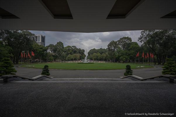 reunion palace in Ho Chi Minh City or Saigon