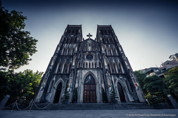 cathedral of Saint Joseph in Hanoi