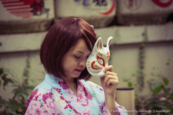 Girl at Meiji-Shrine