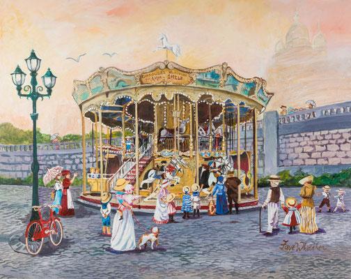 Carousel, montmartre