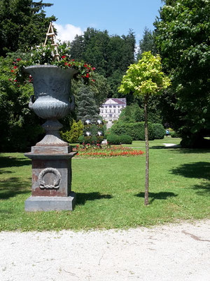 Im Arboretum Volcji Potok