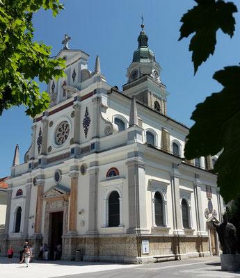 "Brezje, Wallfahrtskirche ""Maria Hilf"""