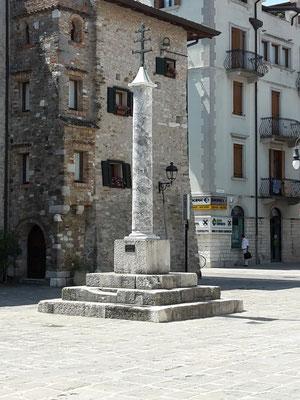 Grado, Platz vor der Basilika Sant' Eufemia