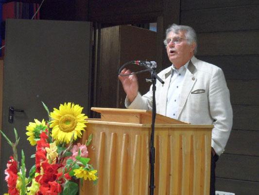 Begrüßung durch Vorstand Hans Fetsch