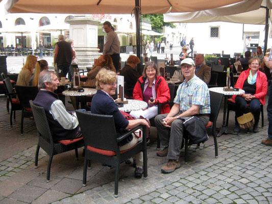 Kaffeepause in Maribor