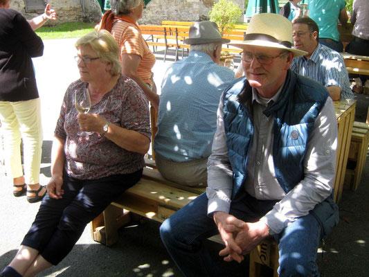 Weinprobe im Weingut von Schloss Seggau