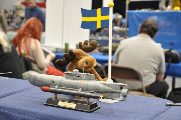 une mascotte pour la Suède
