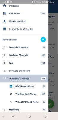 News Übersicht (App)