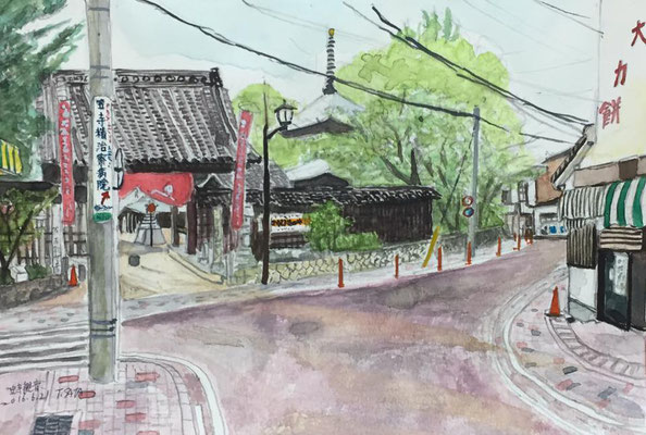 西門・旧東海道沿い