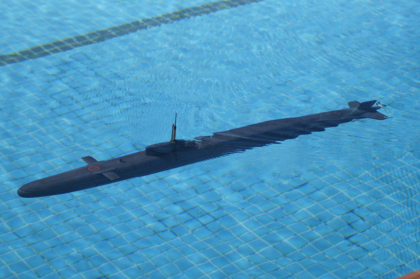 RC Model Submarines cold war - zerobubblemodeldesign