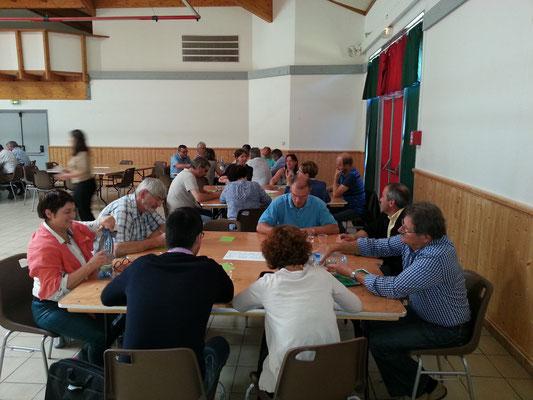 L'organisation de tables rondes a permis aux acteurs locaux de faire part de leurs projets et de leurs attentes en matière d'énergie