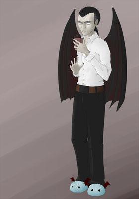 Charakterchallenge Beitrag zum Thema Vampir